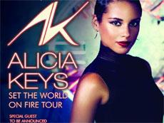 Алиша Кис выступит в Дубаи со своим шоу Set The World On Fire Tour