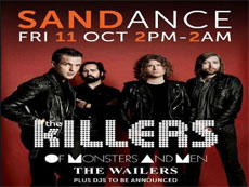 The Killers в Sandance