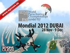 FAI Чемпионат мира по парашютному спорту Mondial 2012