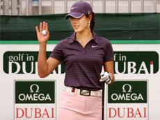 Omega Dubai Мастера гольфа среди женщин