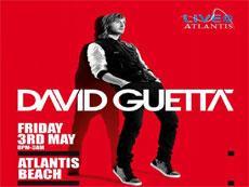 David Guetta вживую в Atlantis 2013