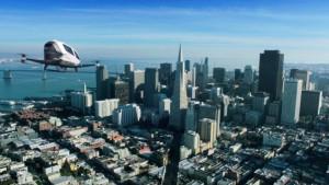 Летающий дрон-такси